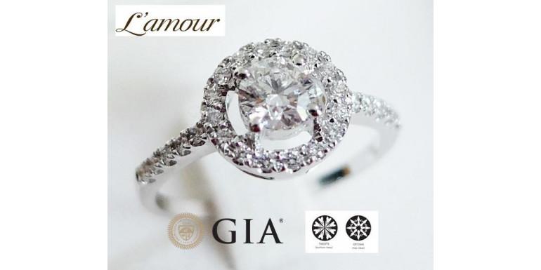 หลักการเลือกซื้อเพชร 4C's of Diamonds พร้อมใบเซอร์เพชร GIA Gemological Institute of America