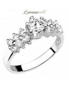 แหวนเพชร แหวนหมั้น แหวนแต่งงาน เพชรแท้พร้อมใบเซอร์ GIA HRD ราคาถูก