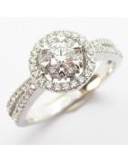 Cer GIA แหวนเพชรแท้ พร้อมใบรับรองเซอร์จาก GIA แท้