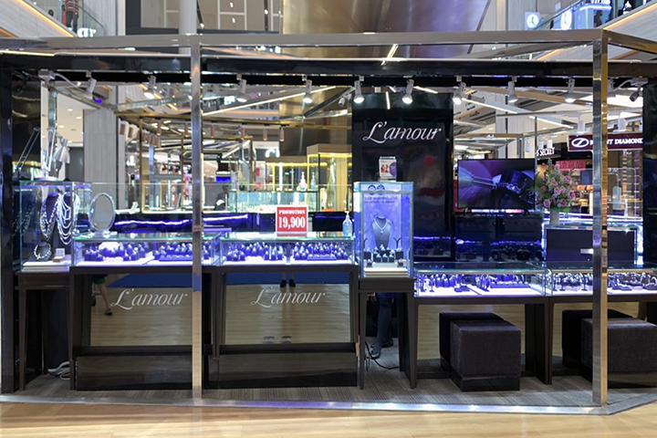 ห้างเพชร Lamour สาขาห้างเมกา บางนา
